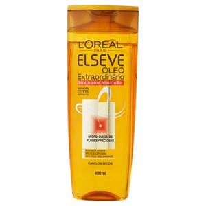 Shampoo L'oréal Paris Elseve Óleo Extraordinário Nutrição Frasco 400ml