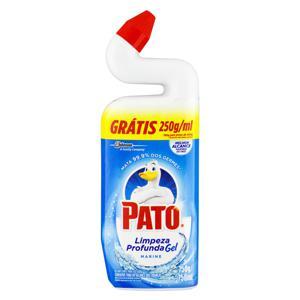 Limpador Pato Limpeza Profunda Marine 750ml Grátis 250g/ml