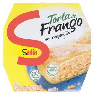Torta de Frango com Requeijão Sadia Caixa 500g