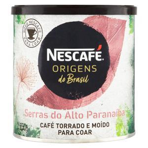 Café Torrado e Moído Serras do Alto Paranaíba Nescafé Origens do Brasil Lata 250g
