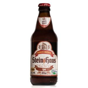 Cerveja orgânica SteinHaus IPA (300ml)