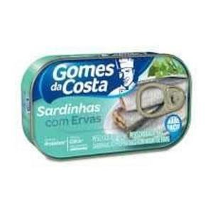 Sardinha GOMES DA COSTA Ervas 125g
