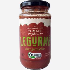 Molho de Tomate Grape com Manjericão Orgânico 330g - Legurmê