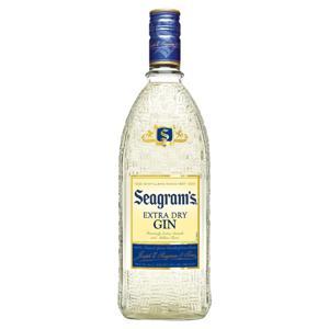 Gin Extra Dry Seagram's Garrafa 750ml