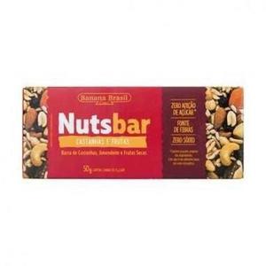 Barra NUTS BAR Castanha e Frutas 2x25g