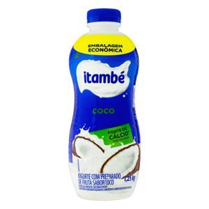 Iogurte Parcialmente Desnatado Coco Itambé Garrafa 1,25kg Embalagem Econômica