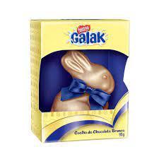 Coelho De Pascoa Nestle 90Gr Galak Branco