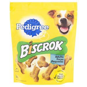 Biscoito para Cães Adultos Raças Pequenas Pedigree Biscrok  500g