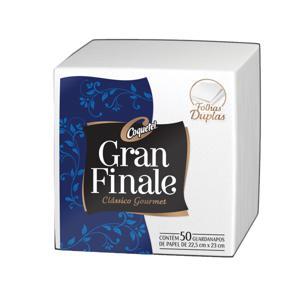 Guardanapo GRAN FINALE 22,5x23cm 30 Unidade