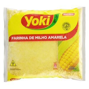 Farinha de Milho Amarela Yoki Pacote 500g