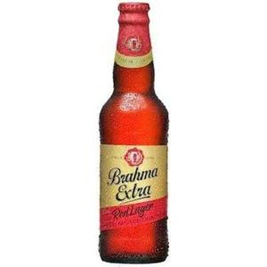 Cerveja BRAHMA Extra Red Lager Long Neck 355ml