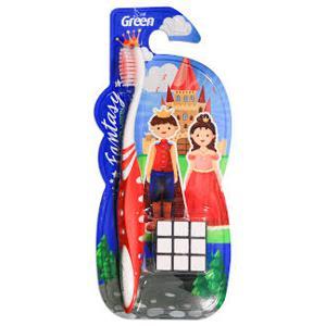Escova Dental Infantil Com Cubo Magico Und