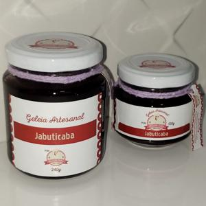Geleia de Jabuticaba 240g - Amanda Sales Confeitaria