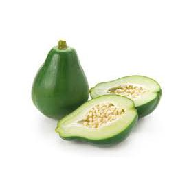 Mamão Verde Orgânico - Aprox. 900g