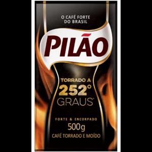 Café Pilão 500G Vácuo Torrado 252° Graus
