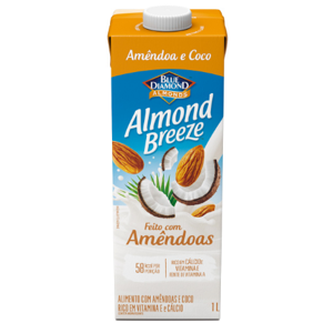 Alimento com Amêndoa Piracanjuba 1lt Almond Breeze Coco