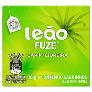 Chá Capim-Cidreira Leão Fuze Caixa 10g 10 Unidades