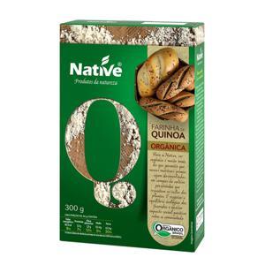 Farinha de quinoa orgânica 300g - Native