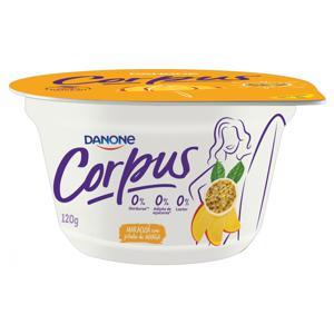 Iogurte Manga com Maracujá Zero Lactose Corpus Pote 120g