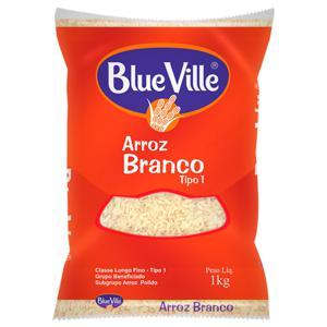Arroz Blue Ville 1Kg Branco