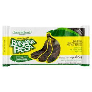 Banana-Passa Banana Brasil Pacote 86g