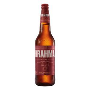 Cerveja Pilsner Duplo Malte Brahma Garrafa 600ml