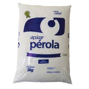 Açúcar Cristal PÉROLA 5Kg