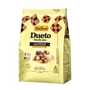 Biscoito Fino Dueto Vale Douro Chocolate 200G