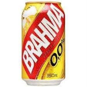Cerveja BRAHMA Chopp Zero Álcool Lata 350ml