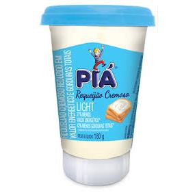 Requeijao Pia 180G Crem Light