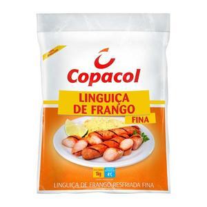 Linguiça de Frango COPACOL Resfriada Fina 1Kg