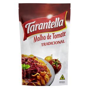 Molho de Tomate Tradicional Tarantella Sachê 340g