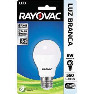 Lâmpada LED RAYOVAC 6W