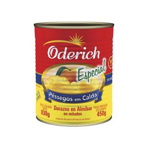 Pessego Calda Oderich 450G Especial