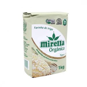 Farinha de trigo orgânica Mirella - 1 kg