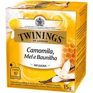 Chá Twinings Camomila, Mel e Baunilha 15g