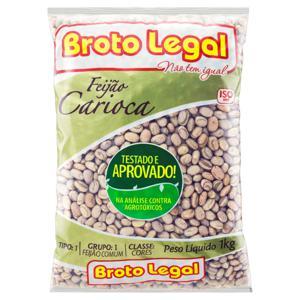 Feijão Carioca Tipo 1 Broto Legal Pacote 1kg