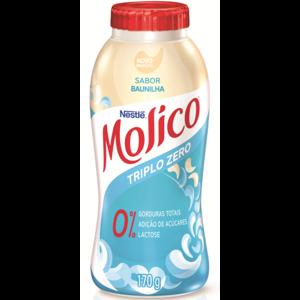 Iogurte Nestlé 170g Molico Triplo Zero Baunilha