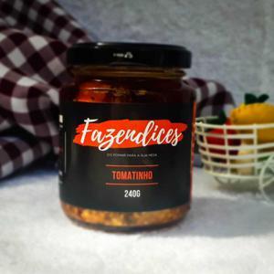 Conserva de tomatinho 240g - Fazendices