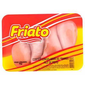 Filé de Peito FRIATO Congelado Bandeja 1Kg