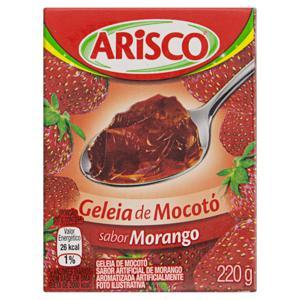 Geleia de Mocotó Morango Arisco 220g
