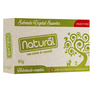 Sabonete Extrato de Camomila Orgânica 80g - Orgânico Natural