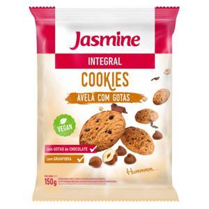 Cookies Jasmine Integral Avelã com Gotas Chocolate 150G