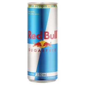 Energético Zero Açúcar Red Bull Lata 250ml