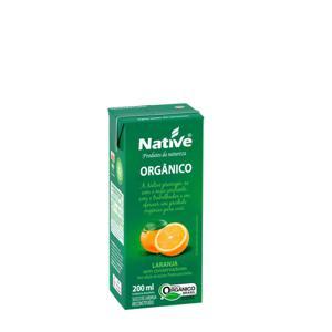 Suco de Laranja Orgânico NATIVE 200ml