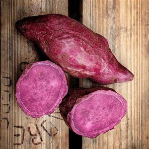 Batata doce roxa (500G)- Orgânica 3 por cliente