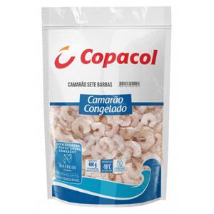 Camarão COPACOL Sete Barbas Congelado 400g