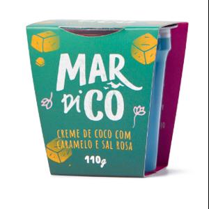 Creme de Coco Caramelo 110g - Mardicô