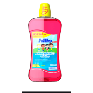 Antisséptico Bucal Hillo 500Ml Kids Leve 500Ml Pague 350Ml Tutti Frut