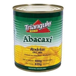 Abacaxi em Calda TRIANGULO 400g